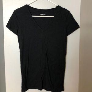 Basic black tee shirt